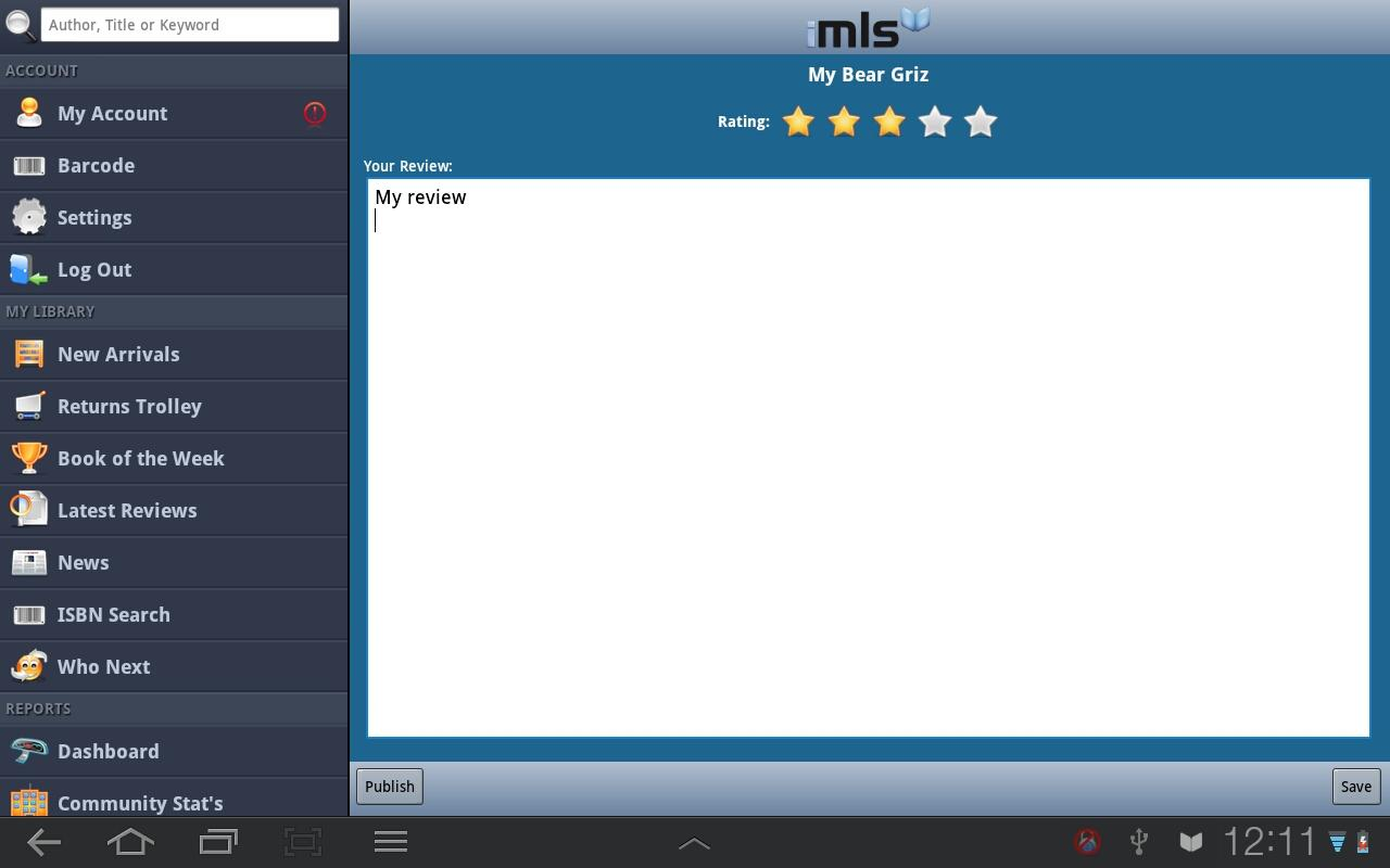 iMLS - screenshot