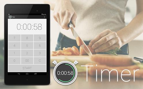 定時器 - 廚房定時器和秒錶簡單