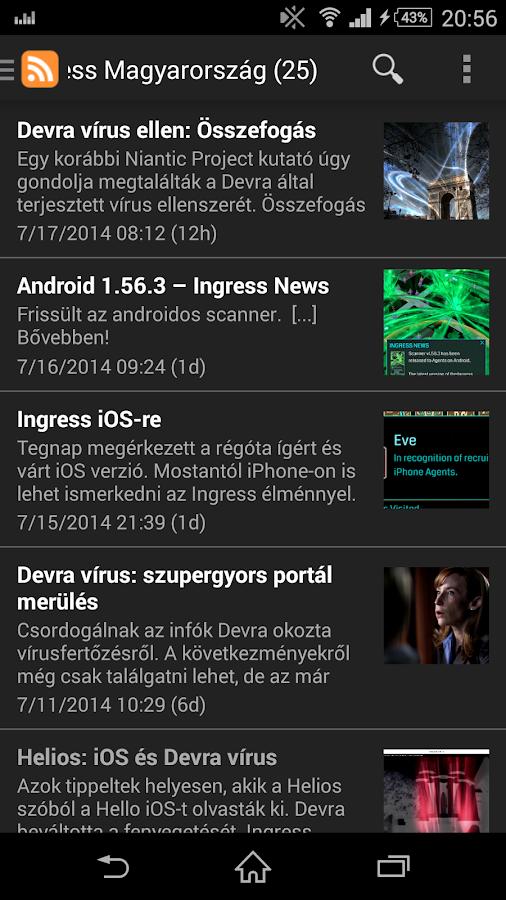 Ingress Magyarország - screenshot