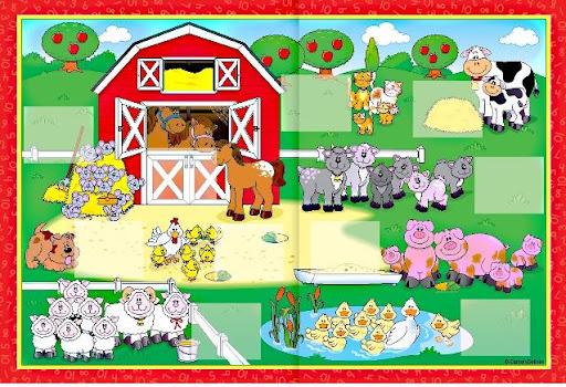 Dibujos De Granjas Infantiles A Color: LA GRANJA: DIBUJOS DE UNA GRANJA PARA NIÑOS