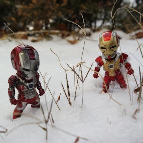 Ironman in winter sonata by Sony Witjaksono - Digital Art Things ( toys )