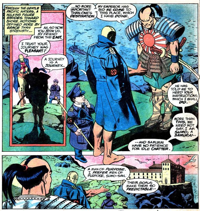 Superman Vs. Wonder Woman: Baron Blitzkrieg meets Sumo