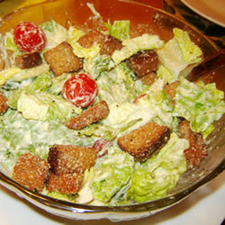 Simple Caesar Salad Dressing.