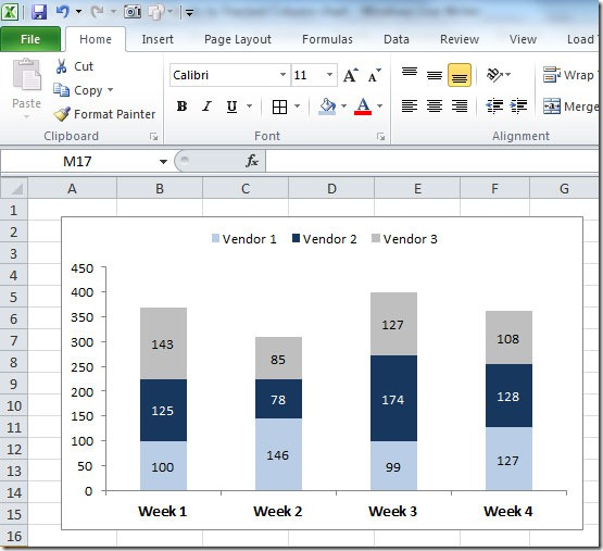 Excel-User com: Excel Charts - Add totals labels to Stacked