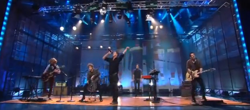 OneReuplic perform 'All the right moves' on Jay Leno