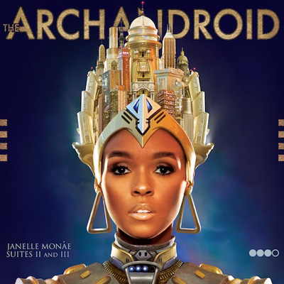 Janelle Monaé's 'The Archangel' album cover