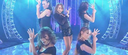 Kumi performs 'Physical thing' on Music station