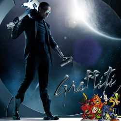 Chris Brown's 'Graffiti' album cover [Standard edition]