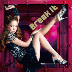 Namie Amuro - Break it [CD + DVD] | Single art