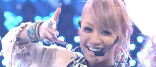 Kumi Koda's debut performance of 'Lollipop' on Music station | Live performance