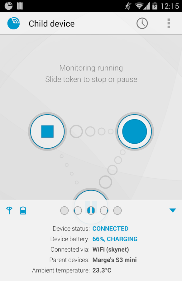 Dormi - Baby Monitor - screenshot
