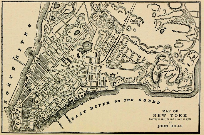 New York Map 1800.Manhattan Unlocked The Story Behind The Lower East Side