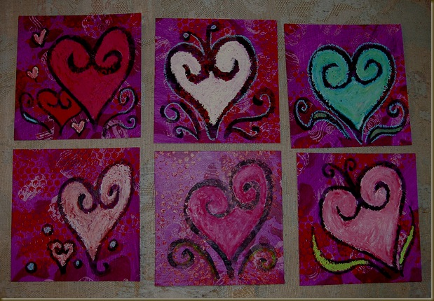 valentines in color one