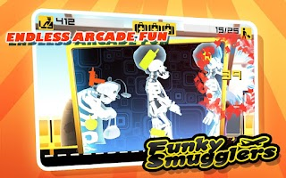 Screenshot of Funky Smugglers