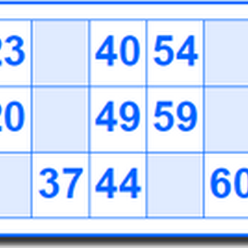 Generador de cartones de bingo para imprimir