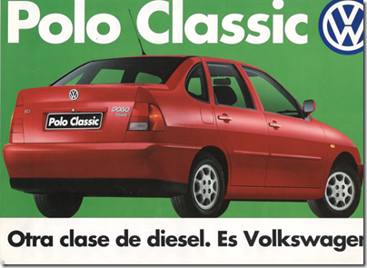 874dd363c Volkswagen Polo Classic. Test 1997