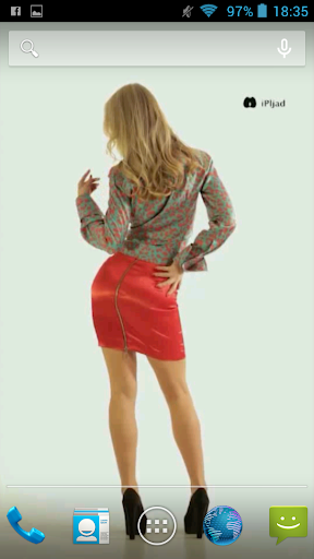 Video Wallpaper Armani Blonde