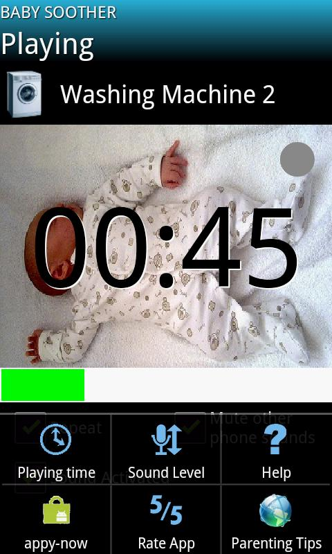 Baby Soother - screenshot