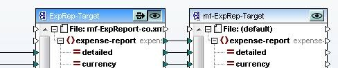 MapForce Preview button