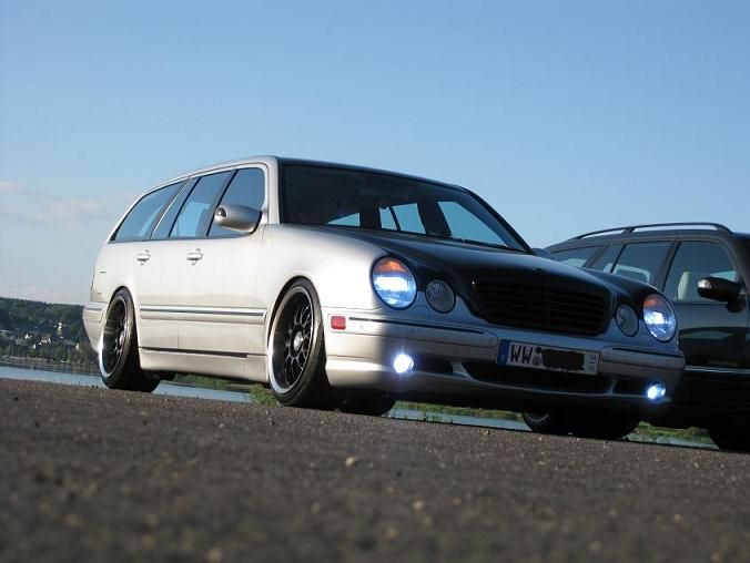 MB W210 size/offset !