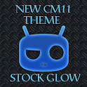 NEW CM 11 THEME STOCK GLOW icon