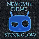 NEW CM 11 THEME STOCK GLOW v2.2