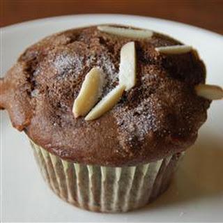 Chocolate Chocolate Chip Nut Muffins.