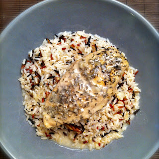 Healthy Chicken, Mushroom And Wild Rice