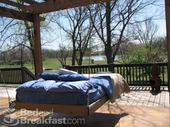 Outside Beds the diy guide to outdoor patio swing beds | outdoor furniture