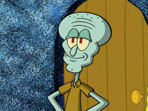 the episode of spongebob where squidward is handsome ...