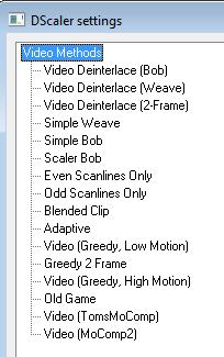 dscaler-video-settings