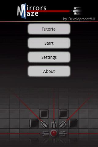 Mirrors Maze - screenshot