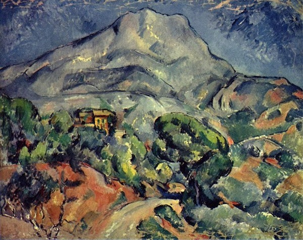 Paul Cézanne - Road Before the Mountains, Sainte-Victoire