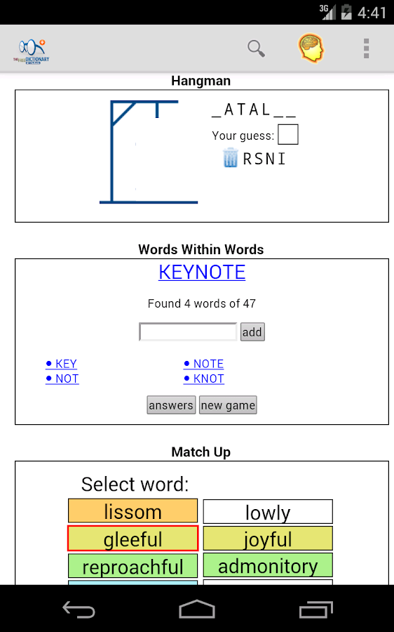 Dictionary Pro- screenshot