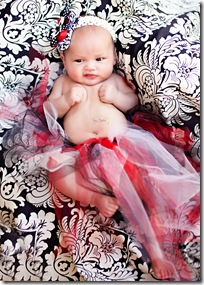 3 Month Baby Girl Tracy Dodson Photography_011
