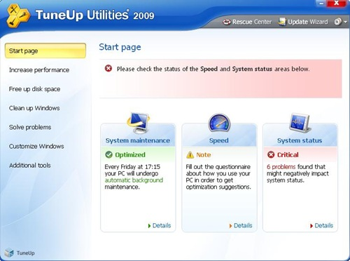 download tuneup utilities 2009