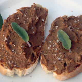 Tuscan Liver Crostini - Crostini di fegatini Toscani