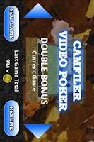 Screenshot of CF Double Bonus Video Poker