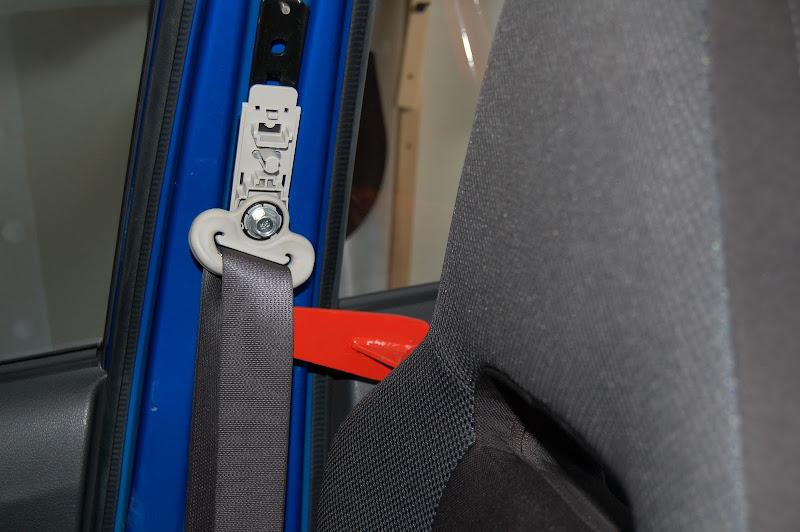 DIY harness bar install