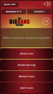 The Big Bang Theory Quiz - screenshot thumbnail