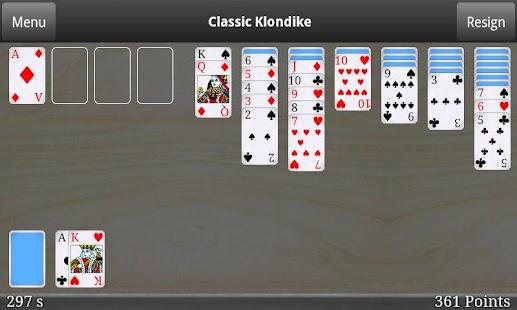 Classic Klondike Free - screenshot thumbnail