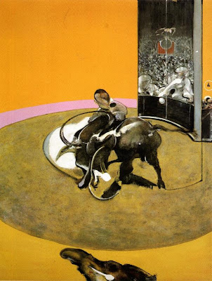 francis bacon, study for a bullfight no 1 first version