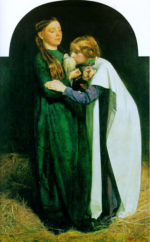 john everett millais, terugkeer van de duif naar de ark van noach