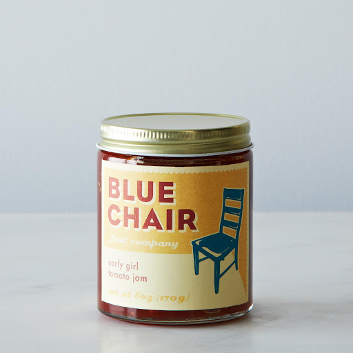 Blue Chair Fruit Early Girl Tomato Jam + Lemon Marmalade