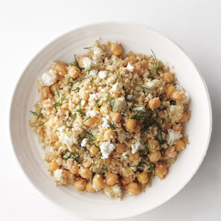 Bulgur-and-Chickpea Salad