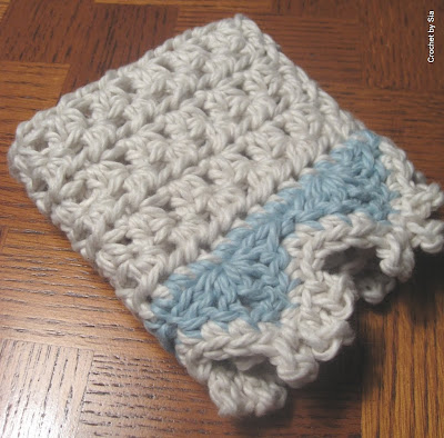 Crochet By Sia Luxe Washcloth Pattern