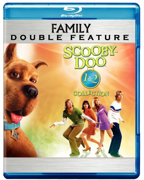 Film Intuition Review Database Blu Ray Review Double Feature Scooby Doo 1 2 Scooby Doo 2002 Scooby Doo 2 Monsters Unleashed 2004