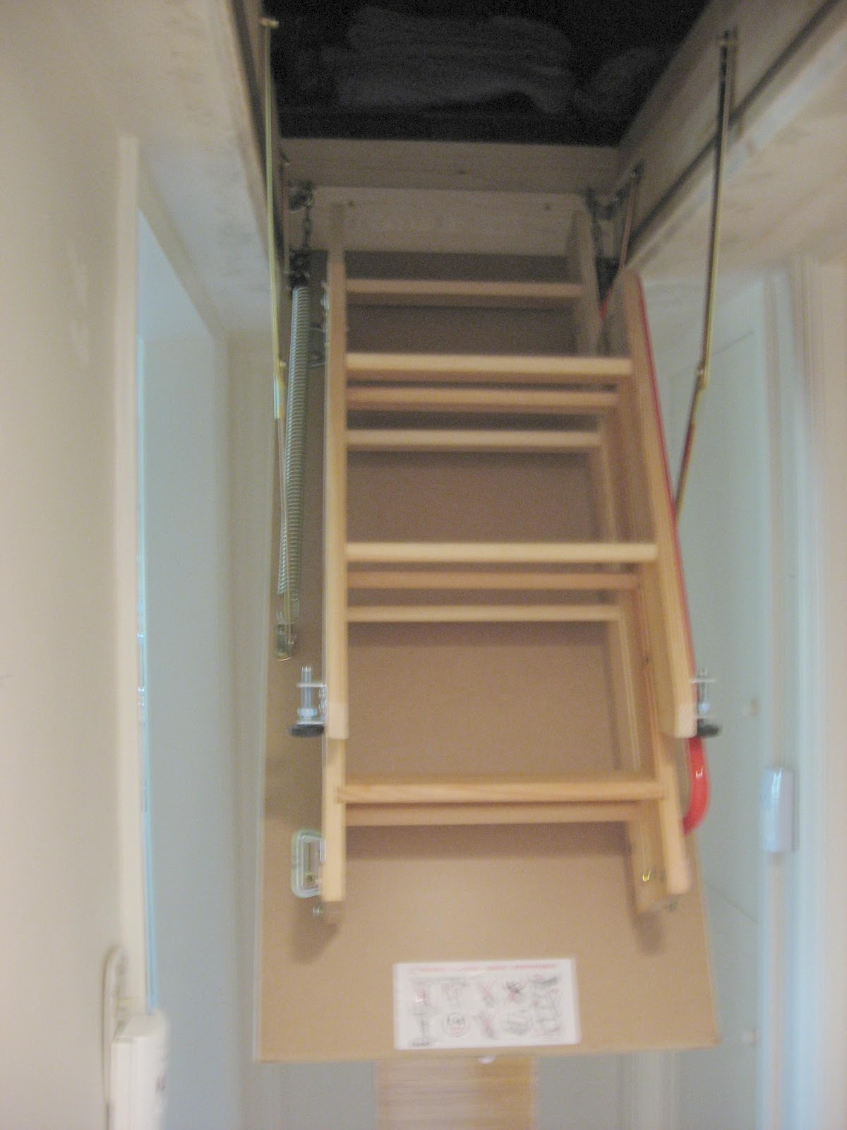 R5 Portals Fakro Attic Ladder Installation Progress