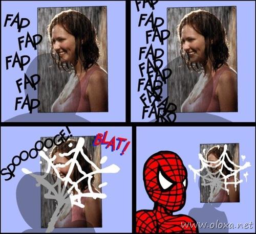 homem aranha punheta