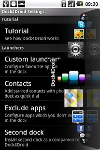 Dock4Droid Unlock - screenshot thumbnail